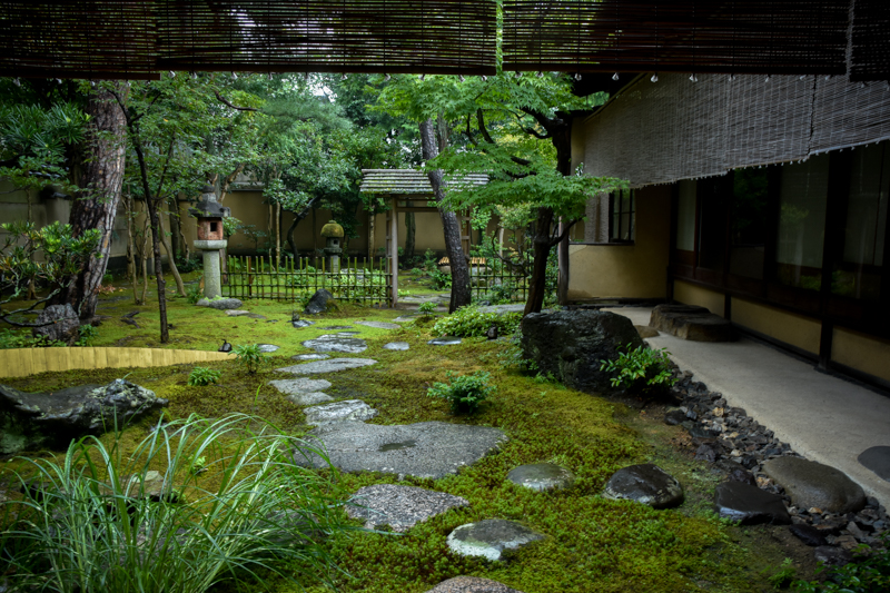 弘道館のお庭