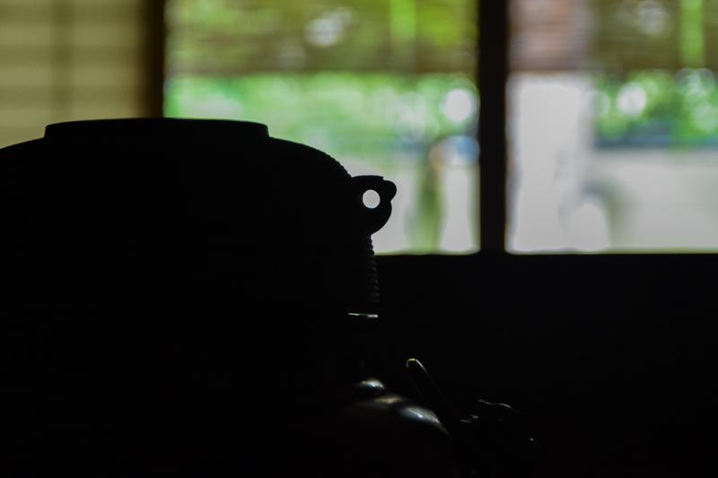 京都弘道館の風炉釜